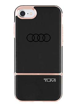 TUMI 2 Piece Slider Case for iPhone 7 - Black/Rose Thumbnail