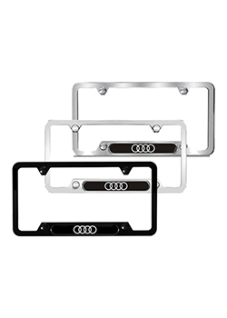 Audi rings license plate frame Thumbnail