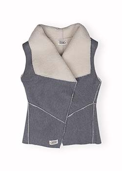 Reversible Sherpa Vest - Ladies Thumbnail