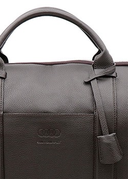 SuitSupply for Audi collection - Brown Holdall Suit Carrier