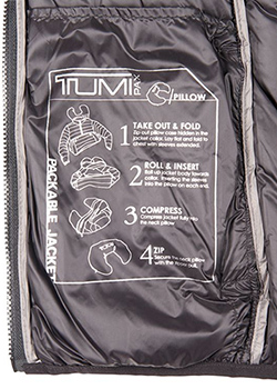 TUMI Packable Jacket - Ladies
