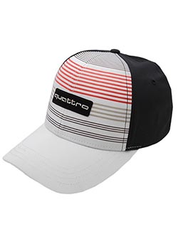 Striped quattro Cap