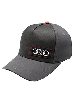 Black and Gray Grille Cap Thumbnail
