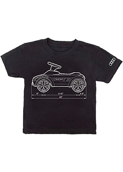 Audi Sport Measurements Tee - Youth Thumbnail