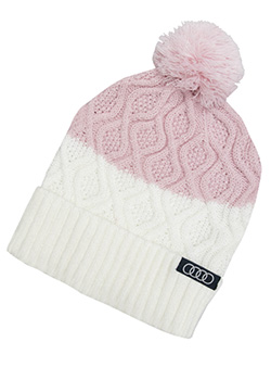 Mauvelous Beanie with Pom Thumbnail