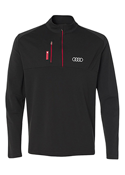 Adidas Mixed Media Quarter Zip - Mens Thumbnail