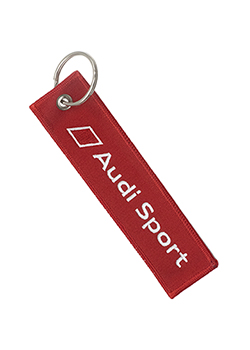 Audi Sport Secure Before Launch Keychain Thumbnail