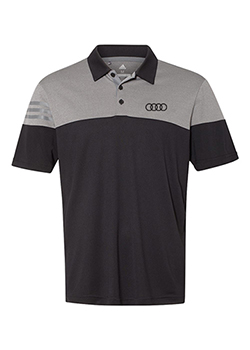 adidas 3-Stripes Heathered Polo Shirt Thumbnail
