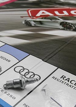 Audi-Opoly Board Game