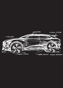 e-tron Sketch T-Shirt - Men's