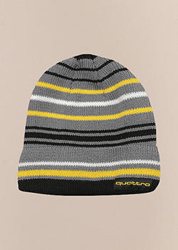 quattro Yellow Stripe Beanie Thumbnail