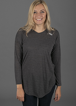 Long Sleeve Hooded Knit - Ladies Thumbnail