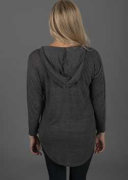 Long Sleeve Hooded Knit - Ladies