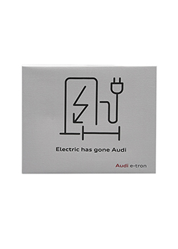 Electric Has Gone Audi Canvas Thumbnail