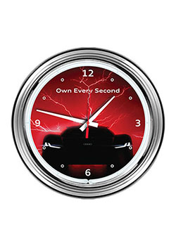 Own Every Second Wall Clock Thumbnail