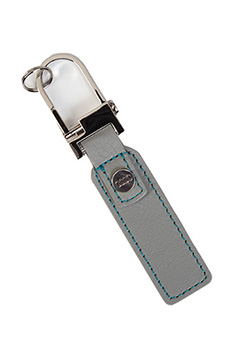 Leather Tag Key Ring Thumbnail