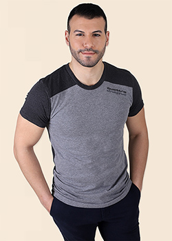 quattro Drop Shoulder Tee - Men's Thumbnail