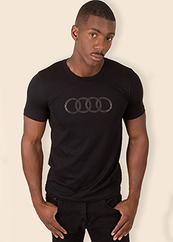Audi Tonal Rings Tee - Men's Thumbnail