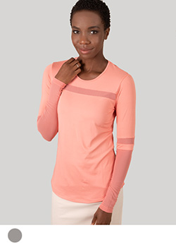 Kendall Long Sleeve Tee - Ladies Thumbnail