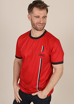 Audi Striped Tee - Men's Thumbnail