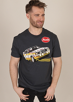 quattro Rally Tee - Men's Thumbnail