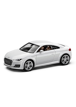 Audi TT Coupe 1:87 Scale Model Thumbnail