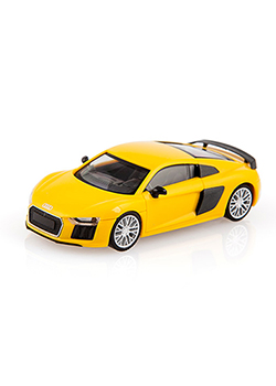 Audi R8 Coupe 1:87 Scale Model Thumbnail
