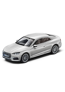 A5 Coupe 1:43 Scale Model Thumbnail
