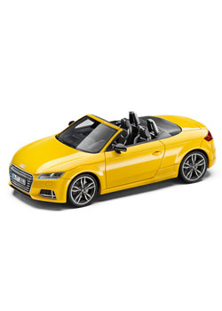 Audi TTS Roadster 1:43 Scale Model Thumbnail