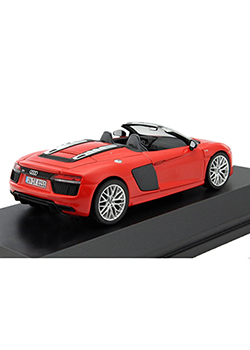 Audi R8 Spyder 1:43 Scale Model Thumbnail