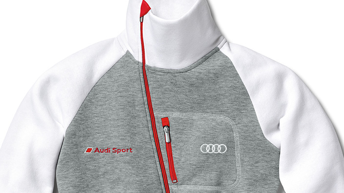 Audi Sport Sweatshirt Jacket - Ladies