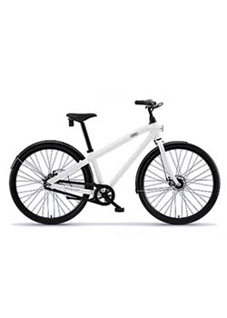 Vanmoof B Series Bike - White Thumbnail