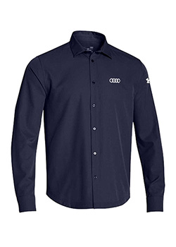 Under Armour Long Sleeve Button Down - Mens