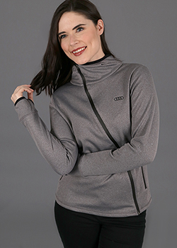Angled Zip Jacket - Ladies Thumbnail