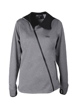 Angled Zip Jacket - Ladies