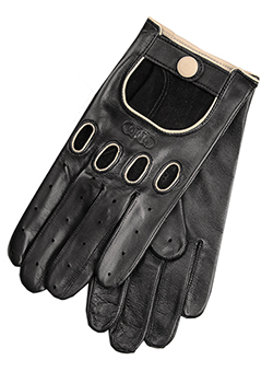 Leather Driving Gloves - Mens Thumbnail