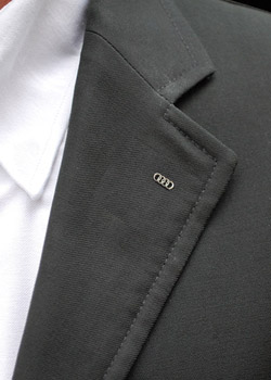 Audi Sterling Silver Lapel Pin Thumbnail