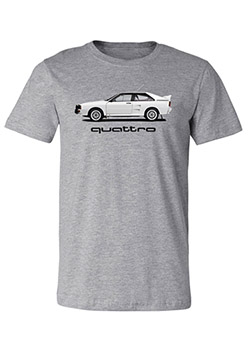 Rally Car quattro T-Shirt Thumbnail