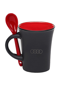 Latte Mug with Spoon Thumbnail