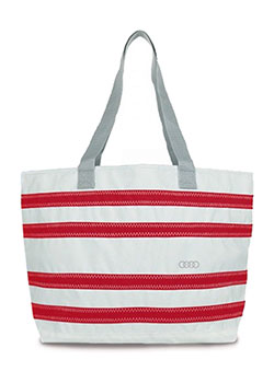 Sailor Bag Nautical Stripes Beach Tote Thumbnail