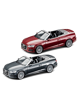Audi A5 Convertible 1:87 Scale Model Thumbnail