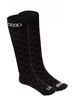 Diamond Pattern Socks Thumbnail