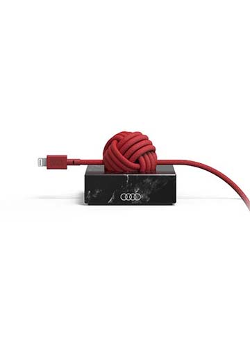 Native Union for Audi Knotted Cable with Marble Block Image