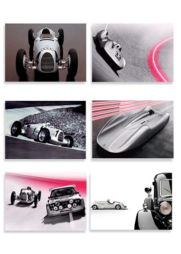 Audi Heritage Postcards - Set of 6 Image