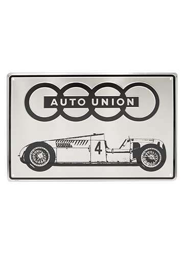 Auto Union Metal Sign Image
