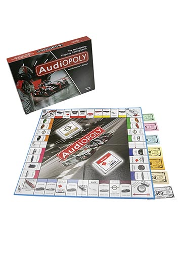 Audi-Opoly Board Game Image