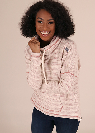 Beachy Hooded Pullover - Ladies Image