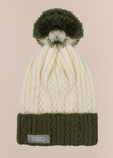 Cable Knit Beanie Image