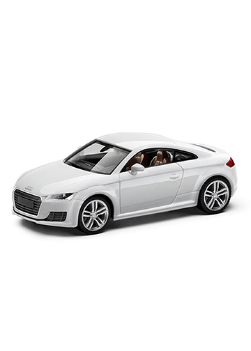 TT Coupe 1:87 Scale Model Image