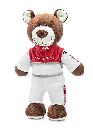 Audi Sport Motorsport Bear - Large Image